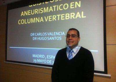 Dr C. Valencia - Docencia